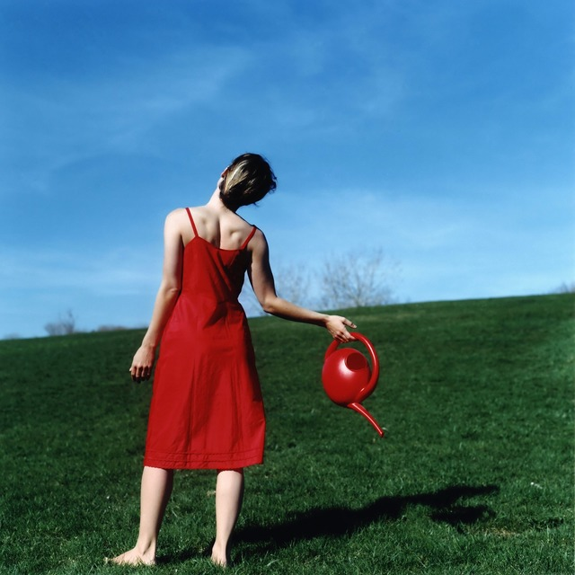 Cig Harvey, 'Watering Can, Self-portrait, Rockland, Maine', 2010, Robert Klein Gallery