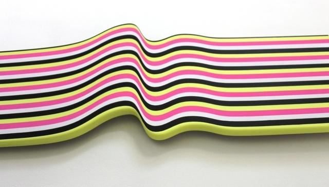 , 'Shaped Painting,' 2014, Galleria GUM