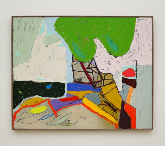 , 'Zeitriß,' 2017, Johannes Vogt Gallery