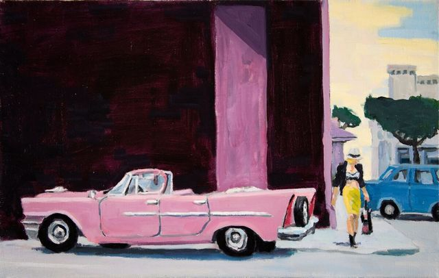 , 'Pink Plymouth,' 2018, WaterWorks Gallery