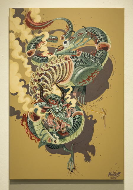 , 'Dragonaut,' 2014, Jonathan LeVine Projects