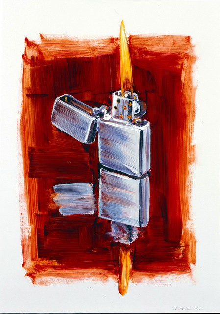 , 'Lighter,' 2010, Hosfelt Gallery
