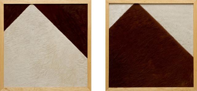, 'Construtivismo rural (diptych),' 2013, Silvia Cintra + Box 4