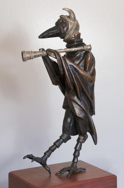 , 'Rattenfänger: Flute Player,' 2015, BoxHeart