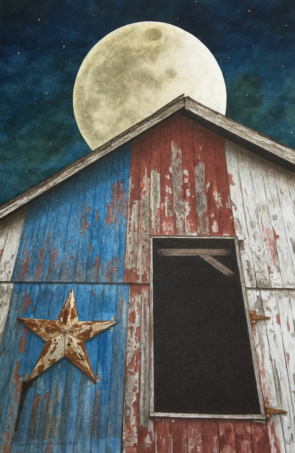 , 'Moon and Stars,' 2017, Peninsula Gallery