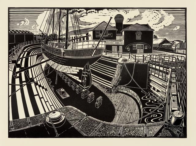 , 'T Nielsen Shipyard, Gloucester Docks,' , Dowling Walsh