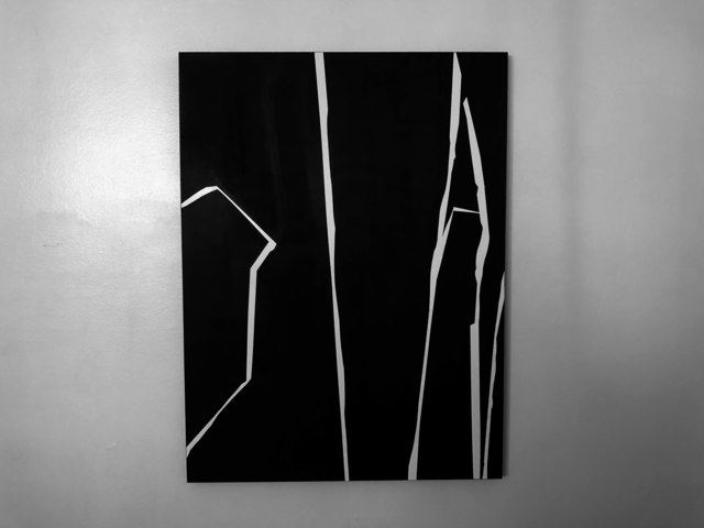 , 'Jagged Lines,' 2018, Wallspace