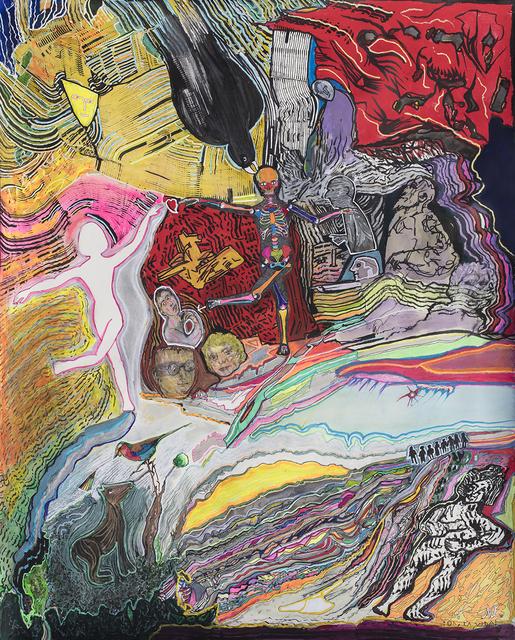 Luis Felipe Noe, 'Oh-la-vida- 100 x 80 cm. ', 2018, Galería Rubbers Internacional