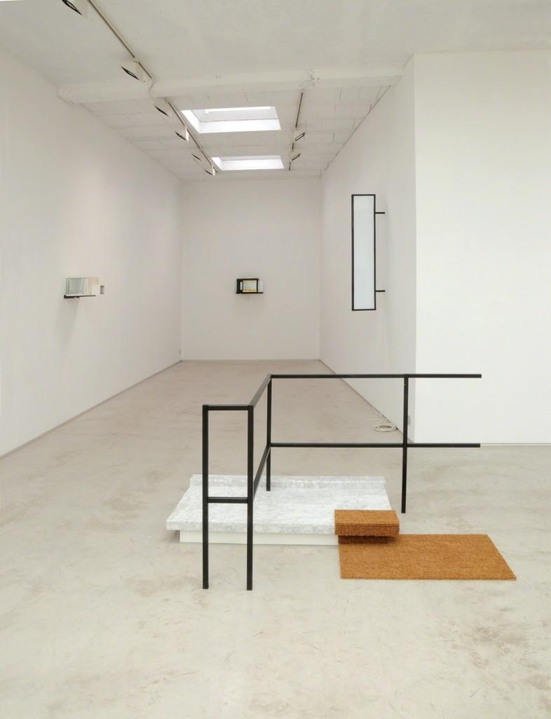 installation view of the exhibition 'Atlas Rebound' by Caroline Van den Eynden