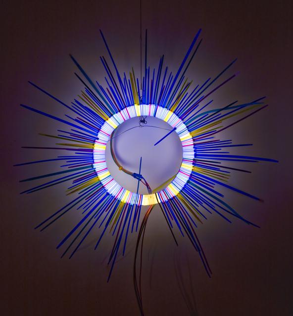 , 'Blue Ring,' 2017, LatchKey Gallery