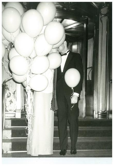 , 'Couple with Balloons at The Plaza Hotel, New York City,' ca. 1979, The Future Perfect