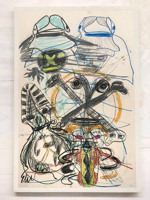 , 'Cross Rib,' 2017, Magenta Plains