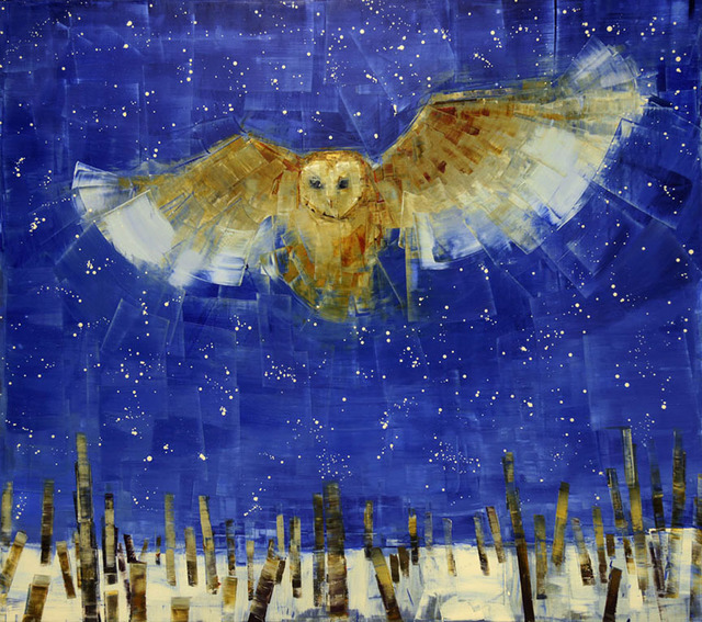 , 'Night Owl,' 2015, Clark Gallery