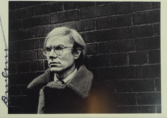 Andy Warhol, 'Andy Warhol', 1976, Ephemera or Merchandise, Bengtsson Fine Art