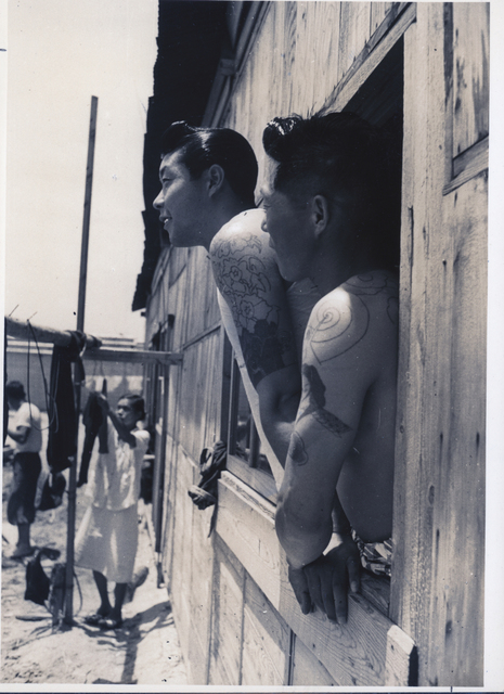 Shomei Tomatsu, 'Men at window one year after the town was struck by a typhoon, Isshiki Town', 1954, Michael Hoppen Gallery