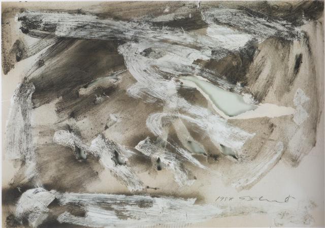 , 'Holes,' 1958, Kanalidarte