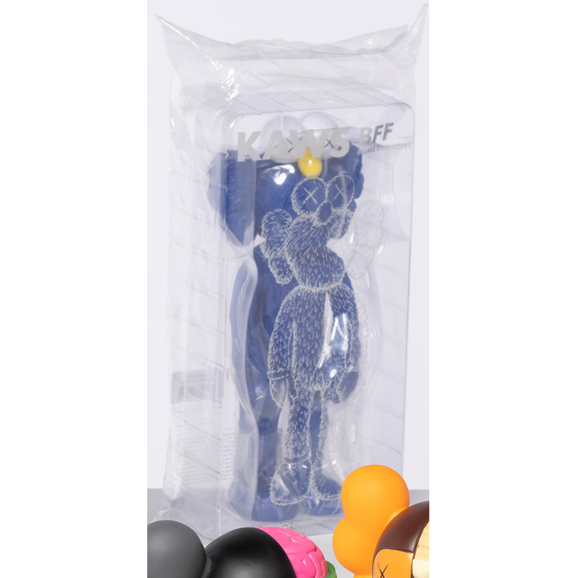 KAWS, 'BFF Companion Blue (MoMa)', 2017, Scultpure in vinyl painted blue, white and yellow, PIASA