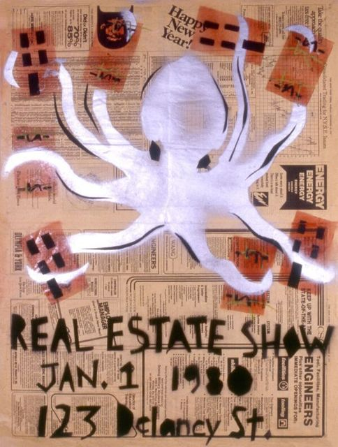 Becky Howland, 'Real Estate Show Poster (Happy New Year_ ', 1979, The FLAG Art Foundation