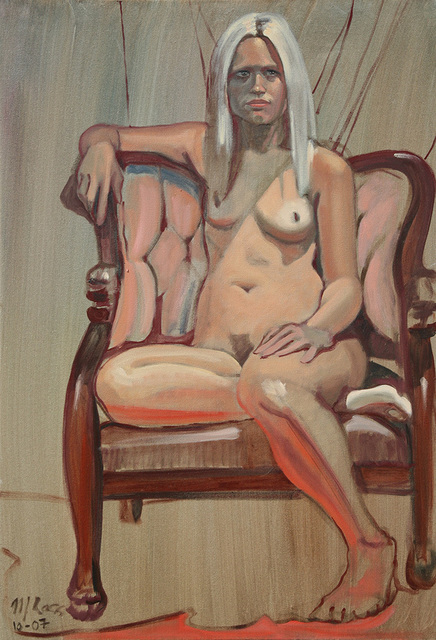 Marc Ross, 'Nude Seated 2', 2008, Ro2 Art