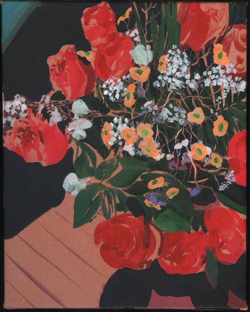 , 'Red Roses,' 2016, De Buck Gallery