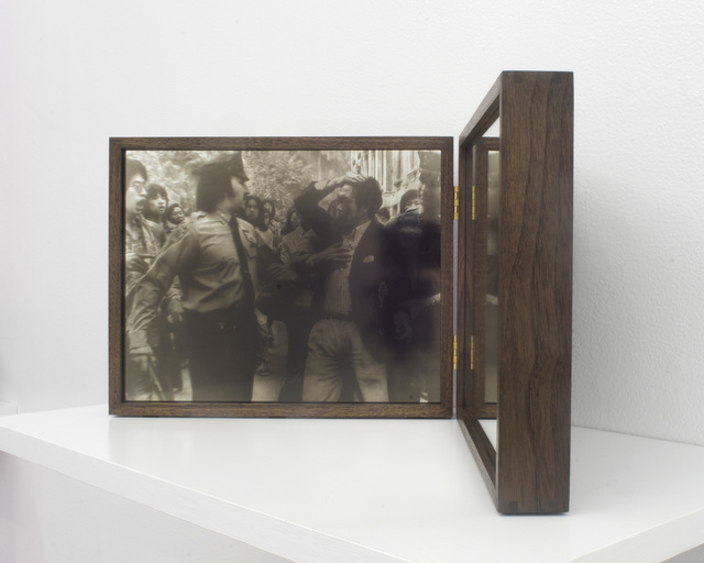 , 'Reflection: Police Brutality Protest in New York Chinatown, 1975 ,' 2018, Rubber Factory