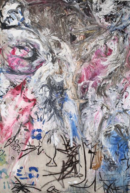 , 'POISSON ROUGE ET BOTTE DE CUIRE APRÈS HYPNOSE,' 2014 -2015, Galerie aKonzept