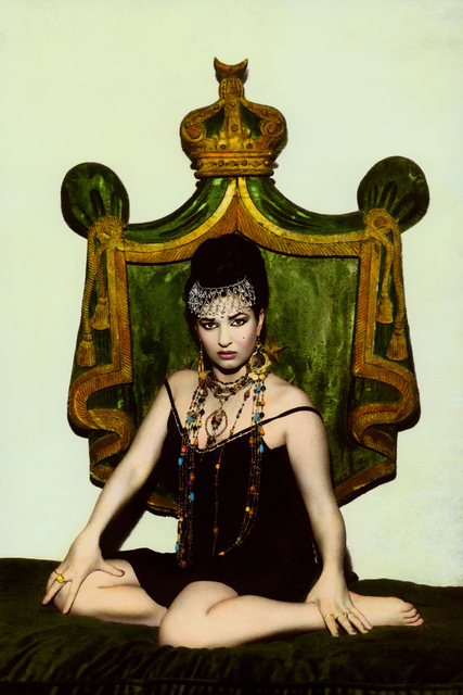 Youssef Nabil, 'Natacha and crown, Cairo 2000', 2000, Galerie Nathalie Obadia