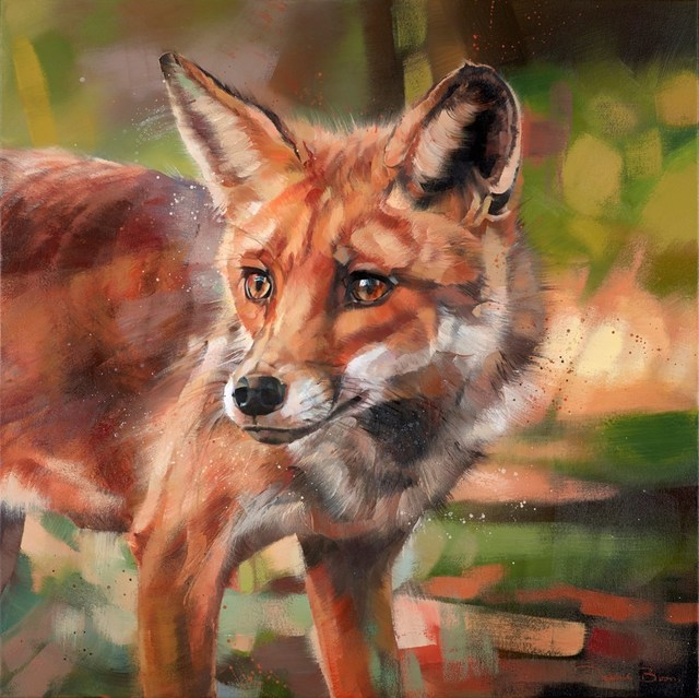 , 'Foxy,' 2018, Clarendon Fine Art
