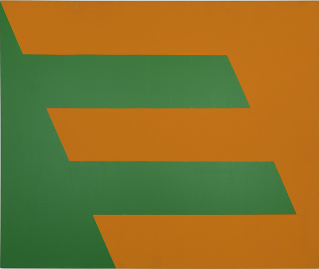 , 'Green and Orange,' 1958, Whitney Museum of American Art