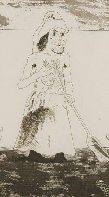 David Hockney, 'The Enchantress In Her Garden', 1969, Sworders