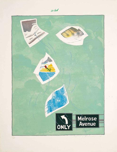 , 'Wind,' 1973, Lyndsey Ingram