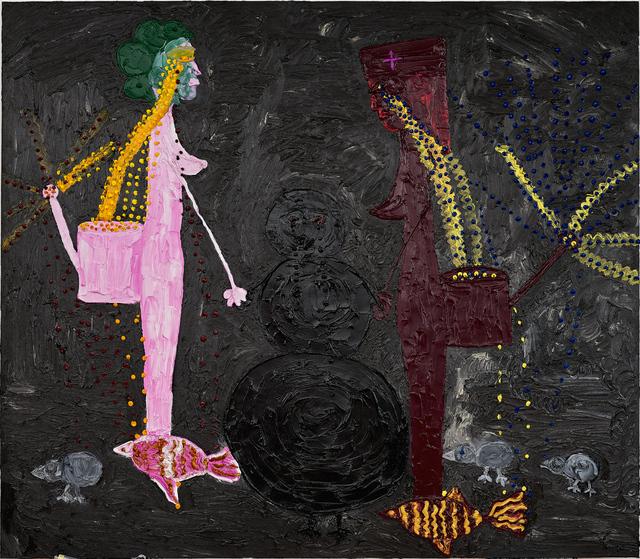 , 'Omul Negru LA,' 2016, Nicodim Gallery