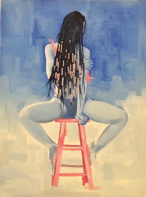 , 'Woman on Stool 2 ,' 2018, Vault Gallerie