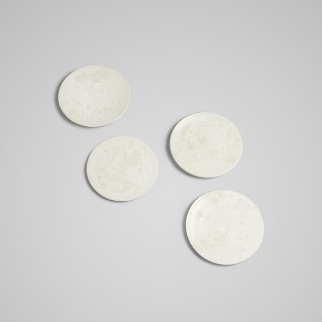 Aage and Kasper Wurtz, 'plates, set of four', Design/Decorative Art, Glazed ceramic, Rago/Wright