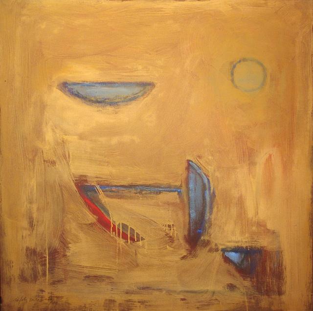, 'Objetos sobre ocre,' 1989, Fernández-Braso