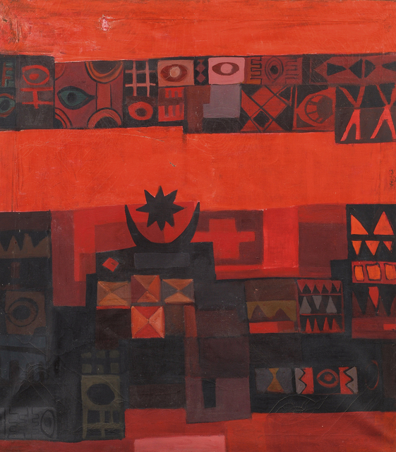 , 'Ancient Symbols,' 1964, Meem Gallery