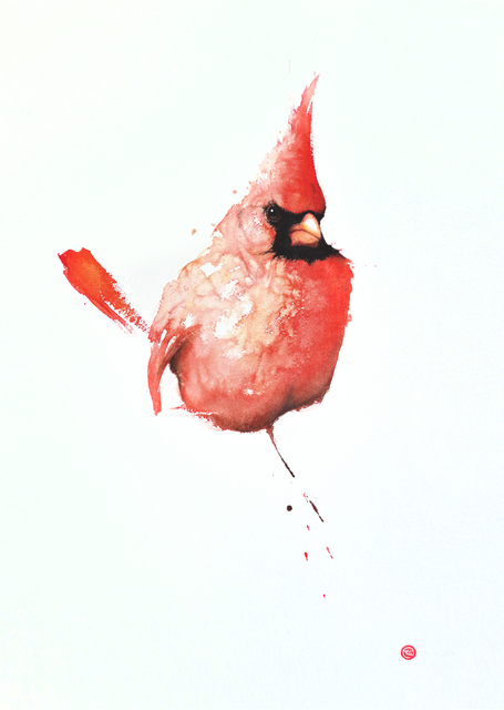 , 'Northern Cardinal,' 2016, Cricket Fine Art