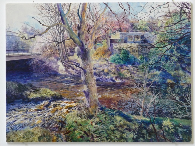 , 'A clear brook on which the sun sparkled (Collinton, Edinburgh),' 2014, Rebecca Hossack Art Gallery