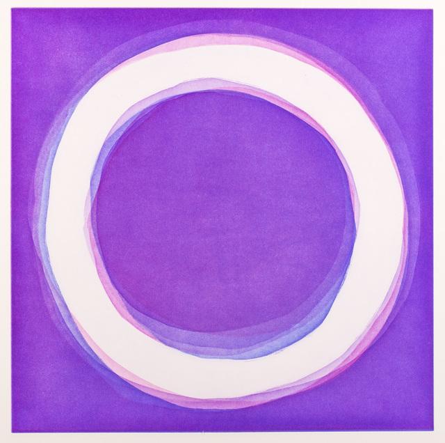 , 'Violet,' 2016, Himmelblau Printmaking Finland