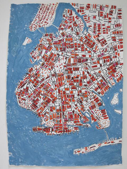 , 'Copper Brooklyn,' 2014, Rebecca Hossack Art Gallery