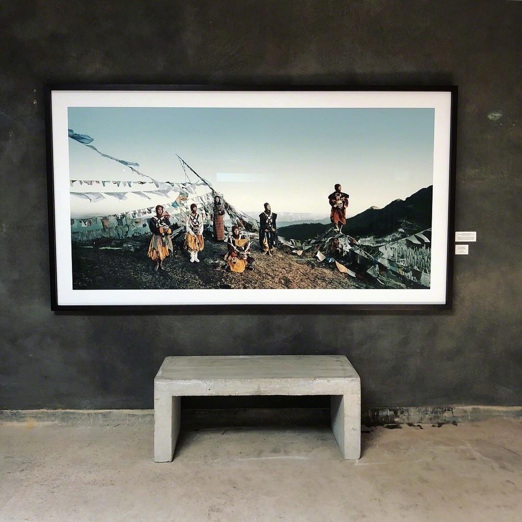 Tsering Yangzom, Tachung & Tsering Wangmo-Tangge Village, Upper Mustang Nepal Edition 6 180*100cm Archival Print