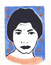 forough Farrokhzad from the Poets in Heaven series