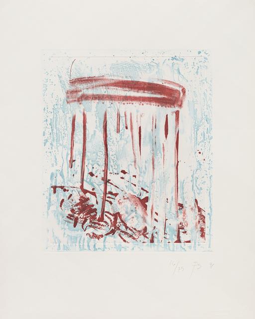 Pat Steir, 'Thursday', 1990-1991, Independent Curators International (ICI)