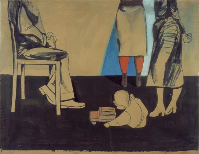 , 'Kitek and people,' 1956-1957, Galerie Isabella Czarnowska