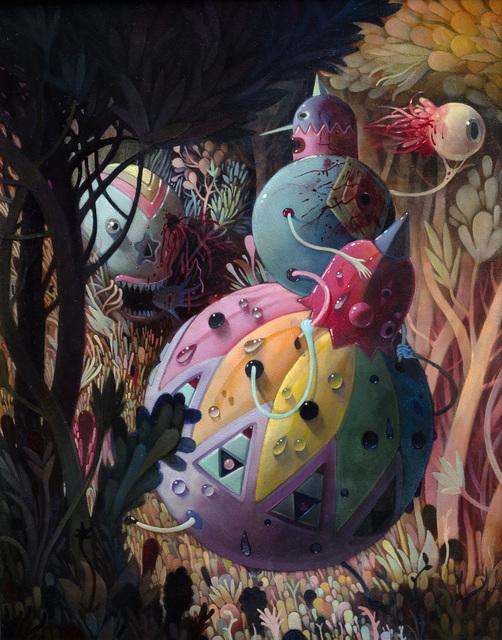 , 'Eyeball Jog,' 2008, Hieronymus
