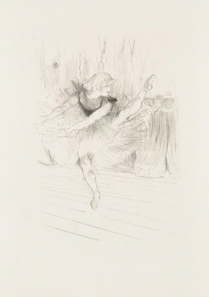 Henri de Toulouse-Lautrec, 'Miss Ida Heath, English Dancer,' 1894, Christopher-Clark Fine Art