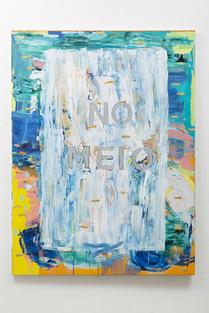 , 'No meio,' 2016, Galeria Nara Roesler