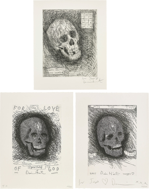 Damien Hirst, 'I Once Was What You Are You Will Be What I Am; and For the Love of God, Beyond Belief', 2006/07, Phillips