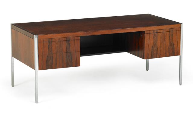 Richard Schultz, 'Richard Schultz For Knoll Associates Desk', 1960s, Design/Decorative Art, Rosewood and chromed steel pedestal desk, New York, Rago/Wright