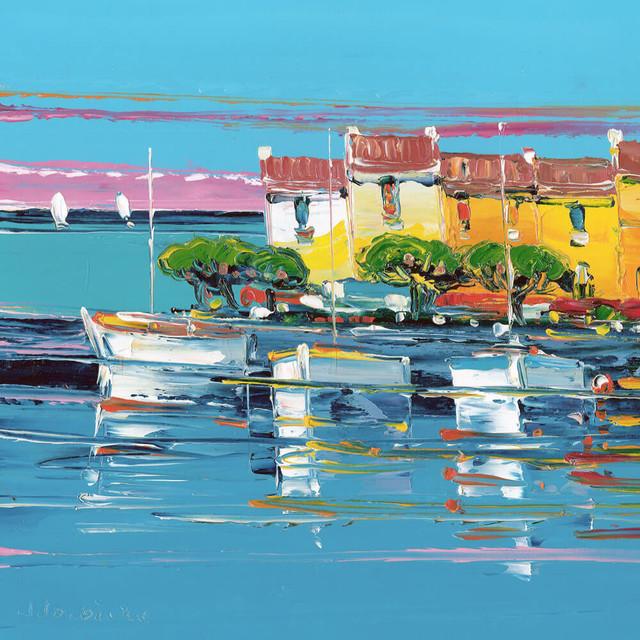 , 'Le matin à Marseille le petit port,' 2016, Carre D'Artistes